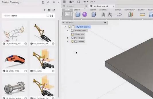 1 – Création de projet et import de fichiers