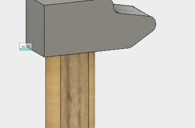 Modélisation d'un marteau avec Fusion 360