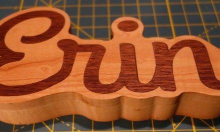 Faire des incrustations avec des découpes en V ( V-Carving inlay)