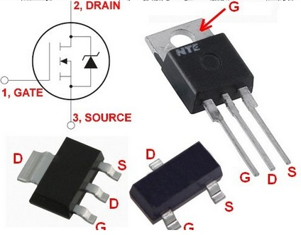 Contrôler des actionneurs de puissance avec des transistors Mosfet