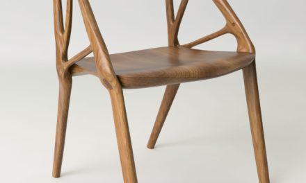 La chaise Elbo réalisée par generative design