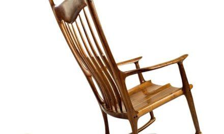 Chaise berçante Sam Maloof