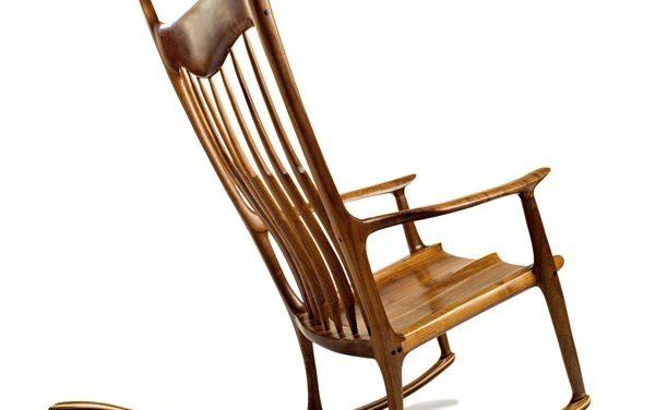 (Fr) Chaise berçante Sam Maloof