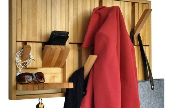 Porte manteau touches de piano