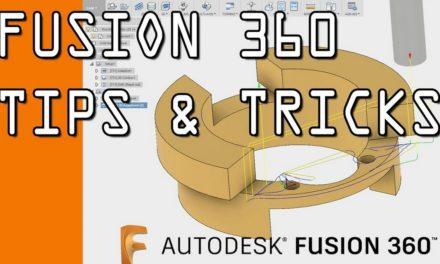 Les trucs et astuces (Tips and tricks) de la playlist Youtube d'Autodesk