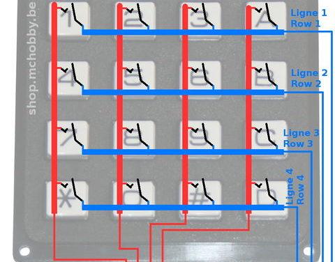 Keypad arduino