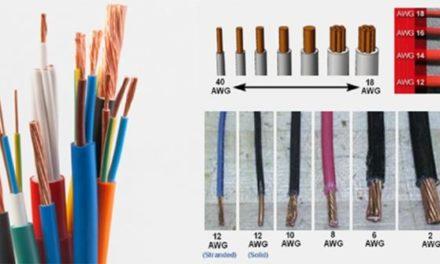 (Fr) Norme AWG pour les fils électriques