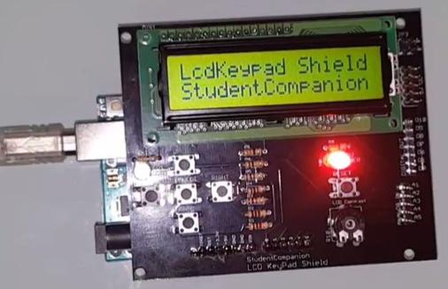 (Fr) Création d'un shield arduino LCD-Pad avec Eagle