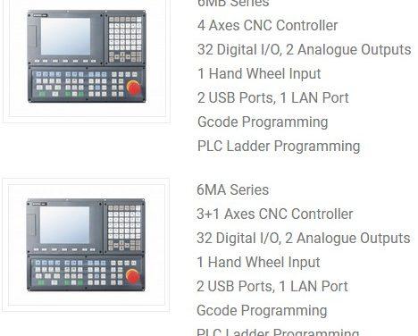 Système de pilotage d'une CNC