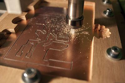 Usinage CNC de circuits imprimés
