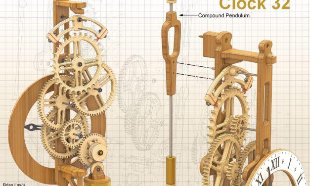 (Fr) Création de l'horloge N°32