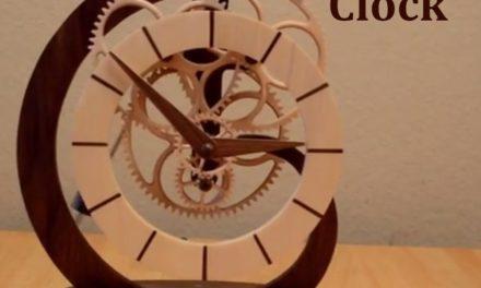 Création d'une horloge Toucan
