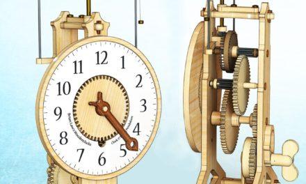 Création de l'horloge volante N°17