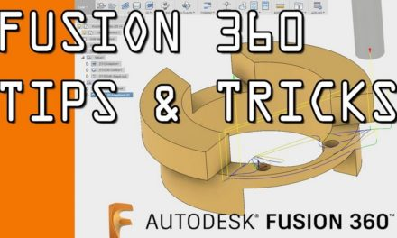 Les trucs et astuces (Tips and tricks) de la playlist Youtube d'Autodesk