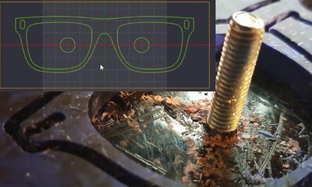 (Fr) Utiliser une CNC pour la lunetterie