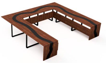 Création table de réunion entreprise