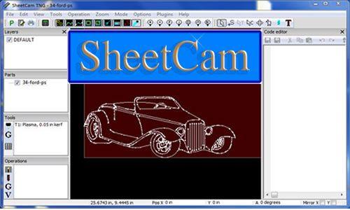 Présentation du logiciel SheetCam